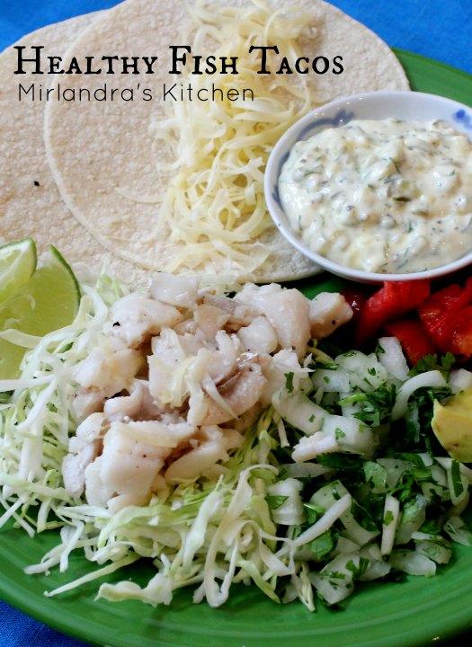 Healthy fish tacos mirlandra 39 s kitchen for Fish tacos near my location