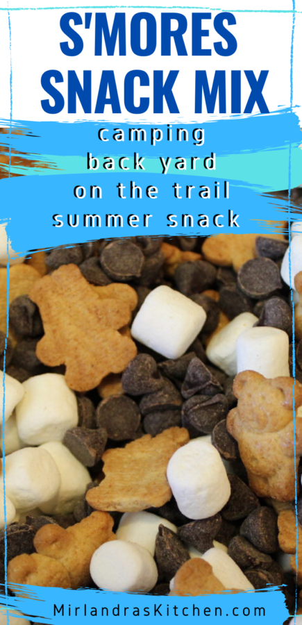 smores snack mix promo image