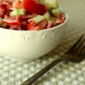 Tomato and Cumber Salad