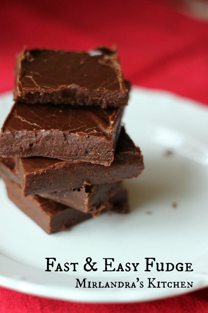 Fast and Easy Fudge