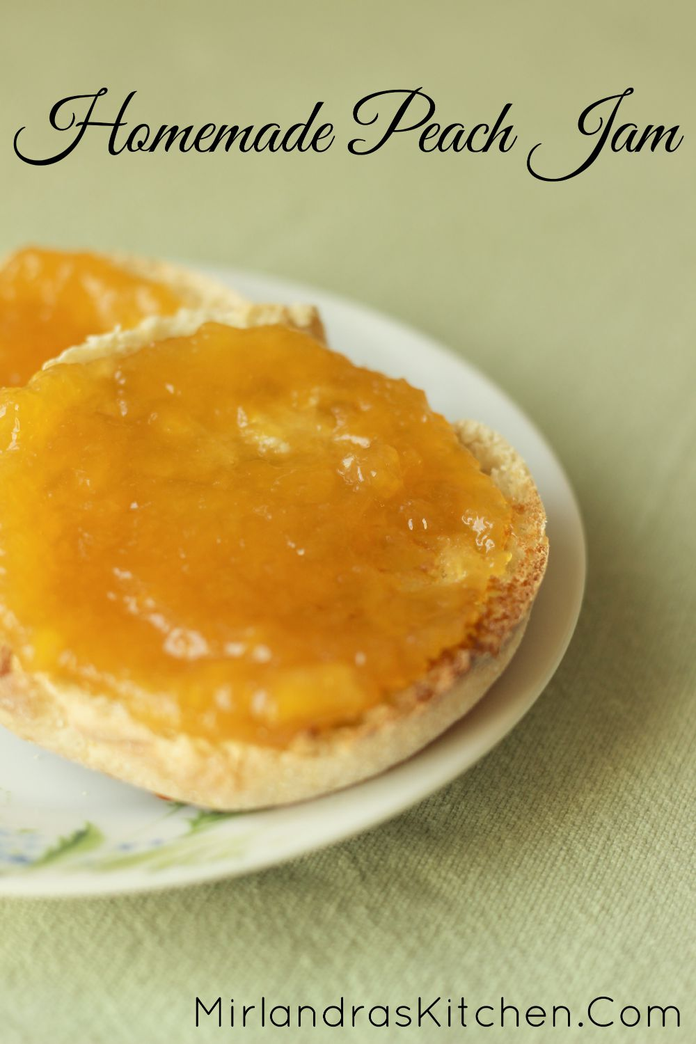 It is not hard to make and can your own peach jam. The results are ...