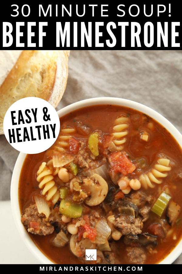 beef minestrone soup promo image