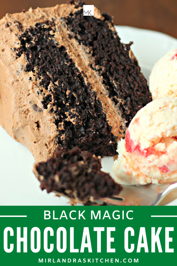 black magic cake promo image