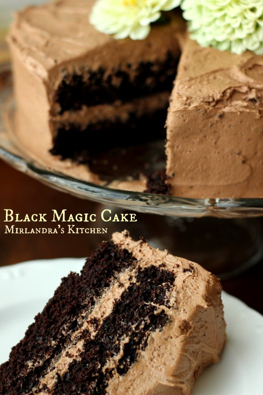Black Magic Cake - Mirlandra's Kitchen