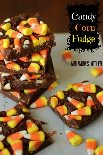 Candy Corn Fudge - Mirlandra's Kitchen