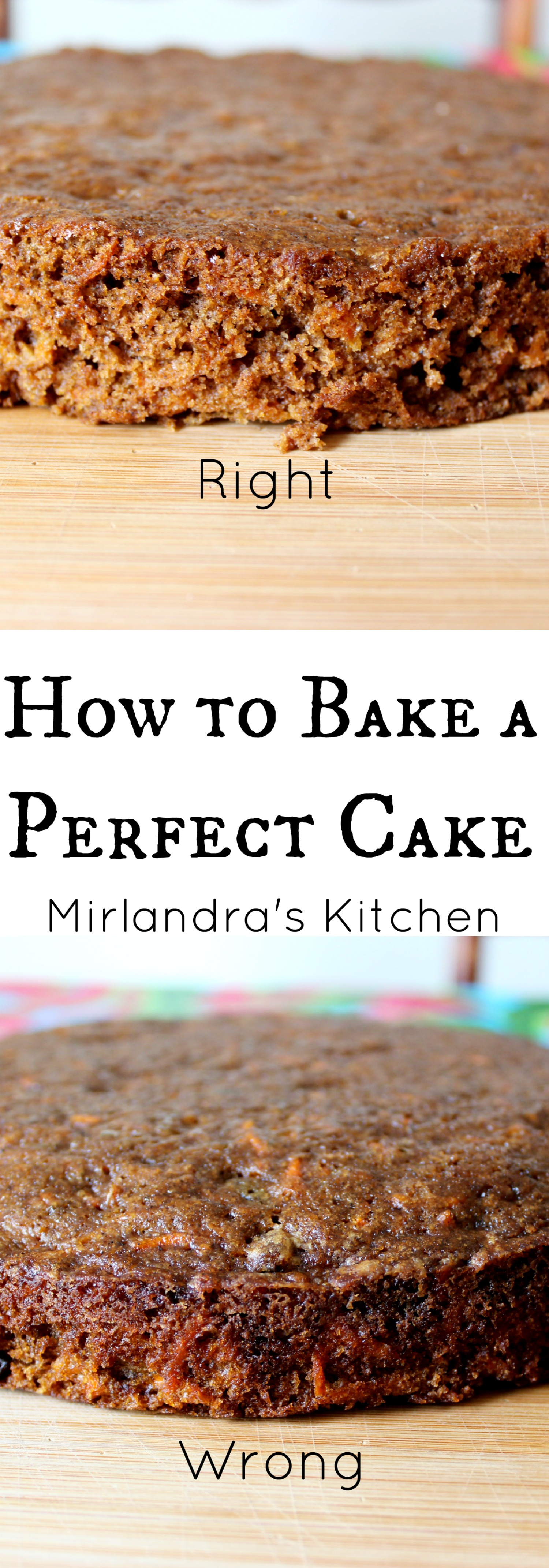 Bake Cake With Wet Towel