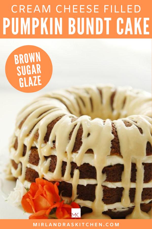 pumpkin bundt cake promo image
