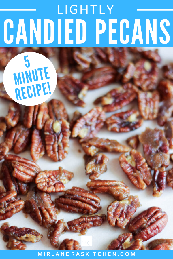 lightly candied pecans promo image
