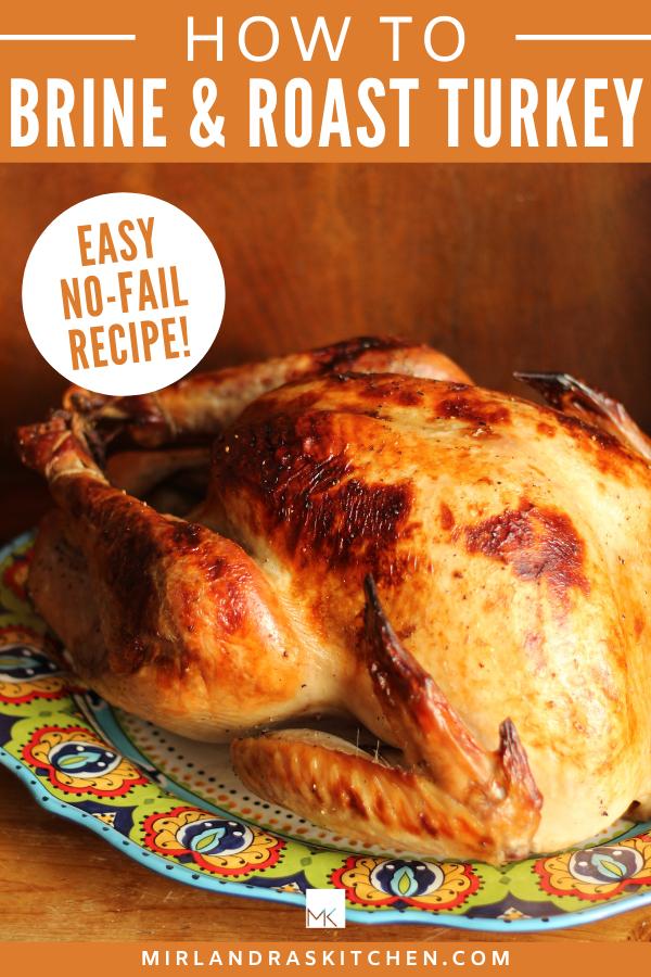 brine and roast turkey promo image