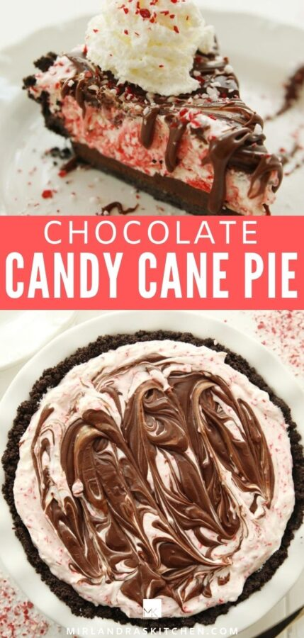 candy cane pie promo image