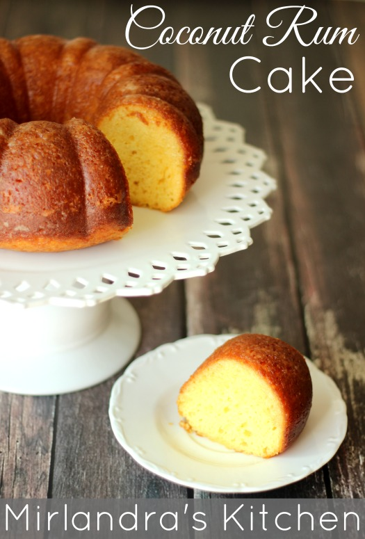 ... soaked with rum. Coconut Rum Cake is just a little bit more amazing