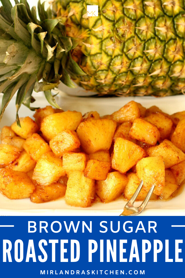 brown sugar roasted pineapple promo image
