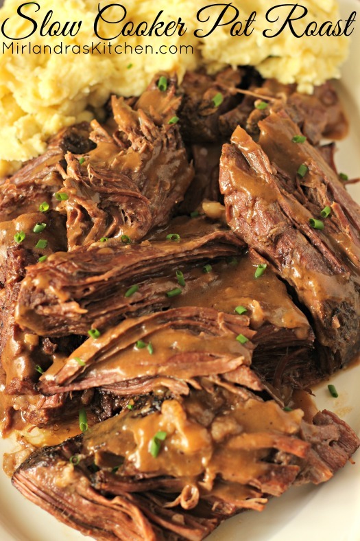 Slow+Cooker+Pot+Roast Slow Cooker Pot Roast - Mirlandra's Kitchen