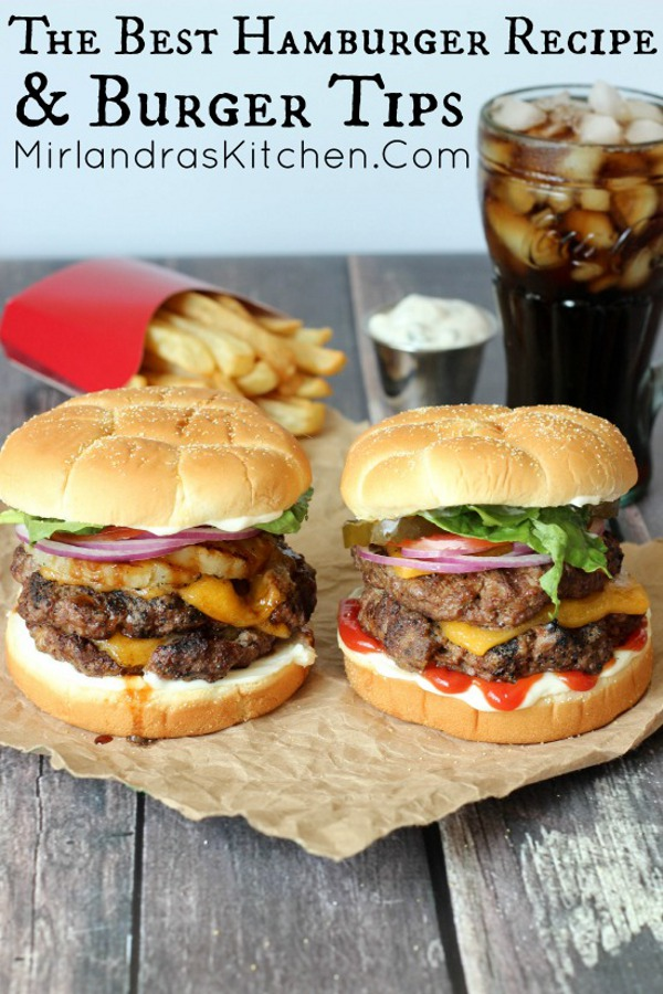 Best-Hamburger-Recipe-and-Burger-Tips