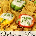 This zesty, creamy Mexican Dip is full of cheese and just a hint of fresh cilantro. Everybody loves this easy ranch based dip that is ready in minutes.