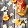 A light, sweet, Nectarine Sangria is perfect for the last hazy hot days of summer. It is easy to make and the perfect drink for a special evening.