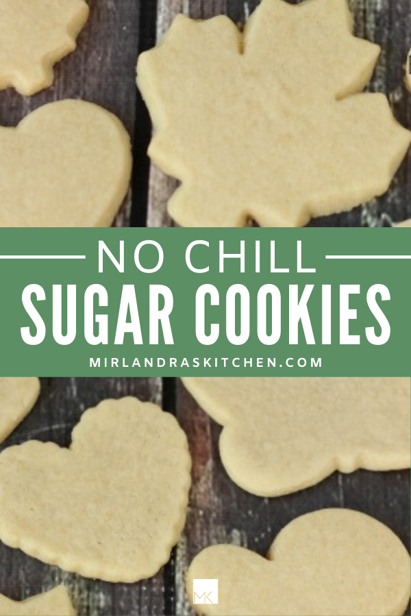no chill sugar cookies promo image