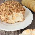 This easy cheese ball takes 15 minutes and is full of fresh flavor. The smoked almonds put it over the top. It never fails to be the hit of a party.