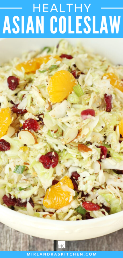 healthy Asian coleslaw promo image