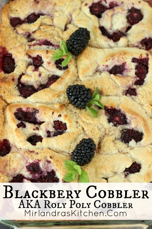 An old fashioned recipe for Blackberry Cobbler that uses Bisquick for easy baking. The rolls are sweet with crunchy edges and full of ripe blackberries!