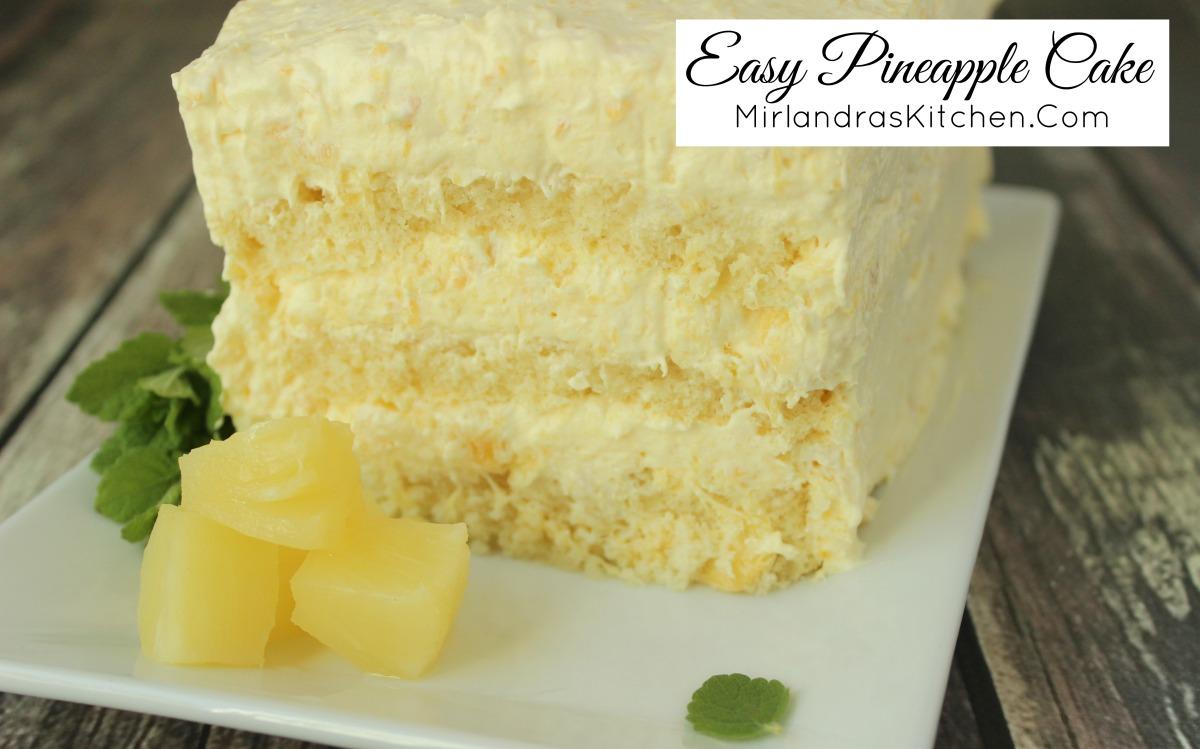 Simple Cake Recipe From Scratch