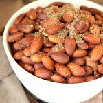 Fried Almonds are simple and delicious! They are ready in a few minutes and make a great appetizer or snack during the holidays and the rest of the year. They are so quick and easy you might feel cheated out of a cooking project!