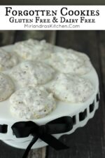 Gluten free cookies have had always had a bad rap at our house but Forgotten Cookies are the exception! We love these delightful, crunchy almond meringue inspired cookies! They are simple to make and don't require any special ingredients!