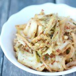 Making Kimchi at home is easy and fun. This authentic Korean recipe is simple to follow and makes a simple Kimchi that can be adapted to your personal taste.