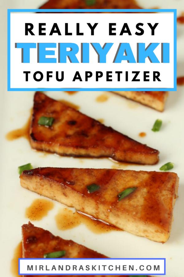 teriyaki tofu appitizer