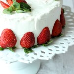 Light fluffy whipped cream frosting makes it easy to create a beautiful cake in minutes and is a delicious alternative to buttercream. I especially love it on my springtime cakes!