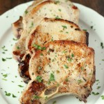 Juicy, tender, flavorful pork chops! These are quick and simple to prepare and come out perfect every time. A true classic at its best!