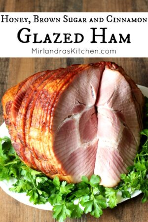 This easy glazed ham has a delicious crust covered in honey, brown sugar and spices. Even a novice cook can bake an excellent ham with this simple recipe. All the tips you need to pick out a great ham are included.