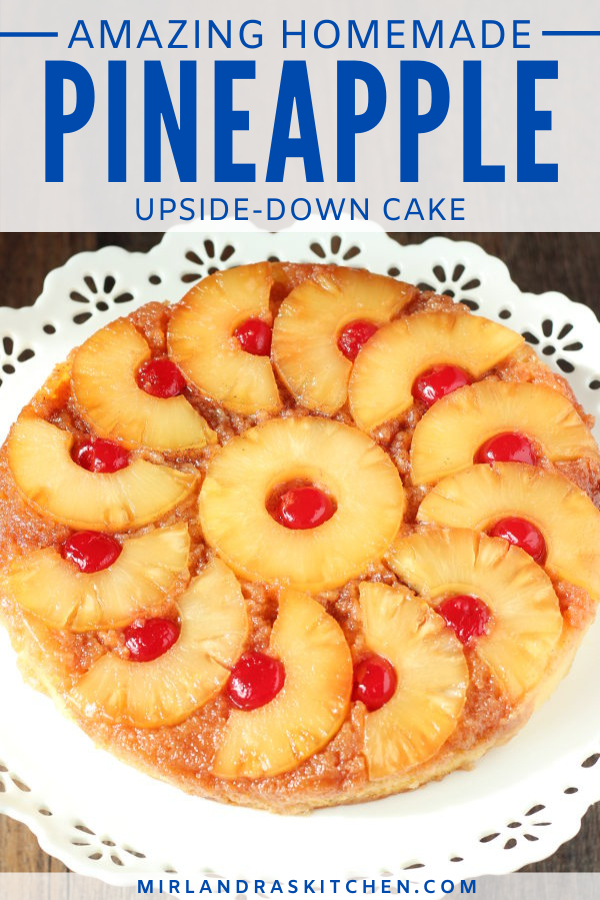 pineapple upside down cake promo image