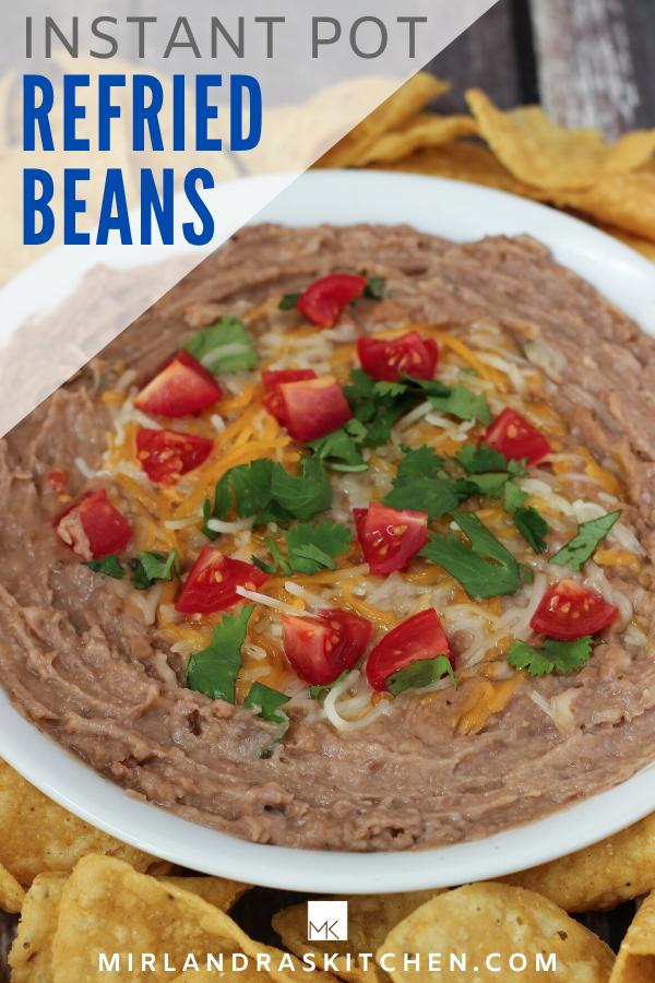 instant pot refried beans promo image