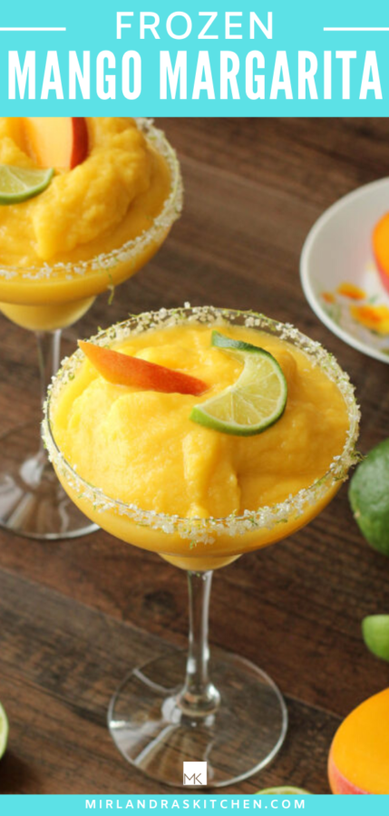 frozen mango margarita promo image
