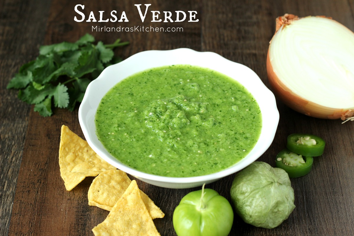 Salsa Verde - Mirlandra's Kitchen