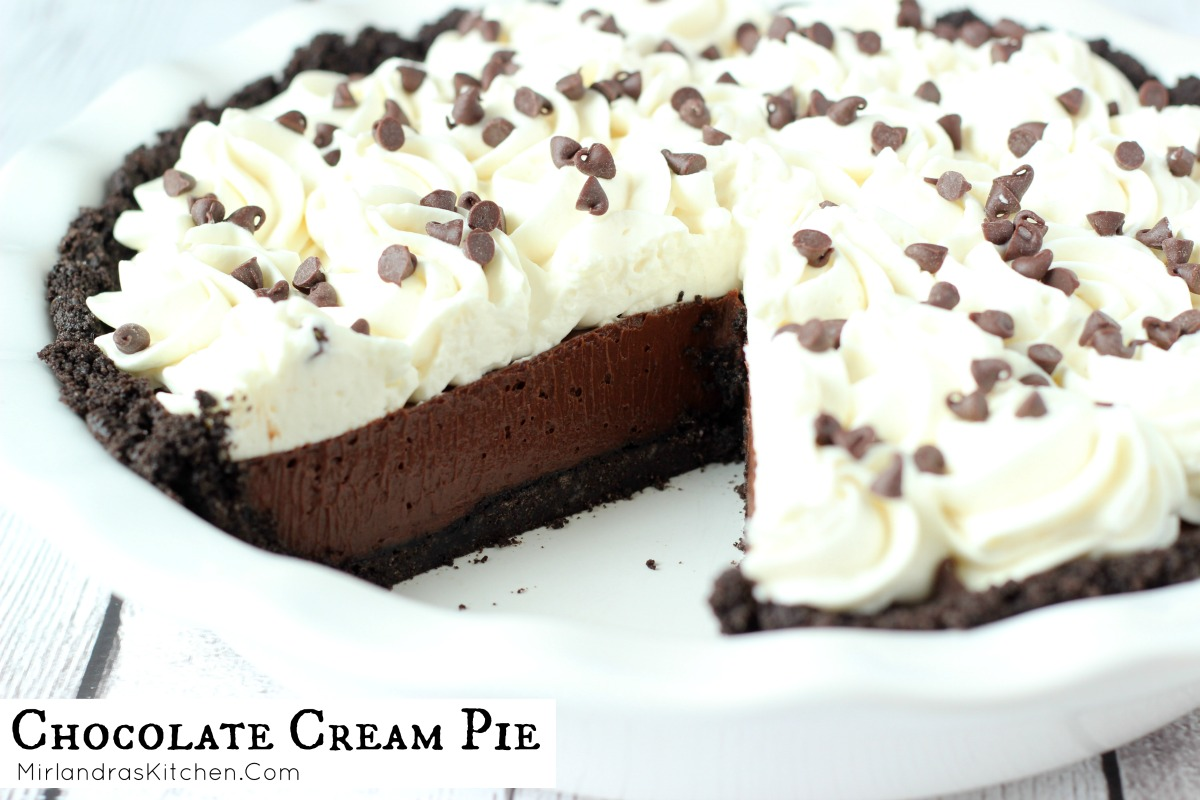 Chocolate Cream Pie - Mirlandra's Kitchen