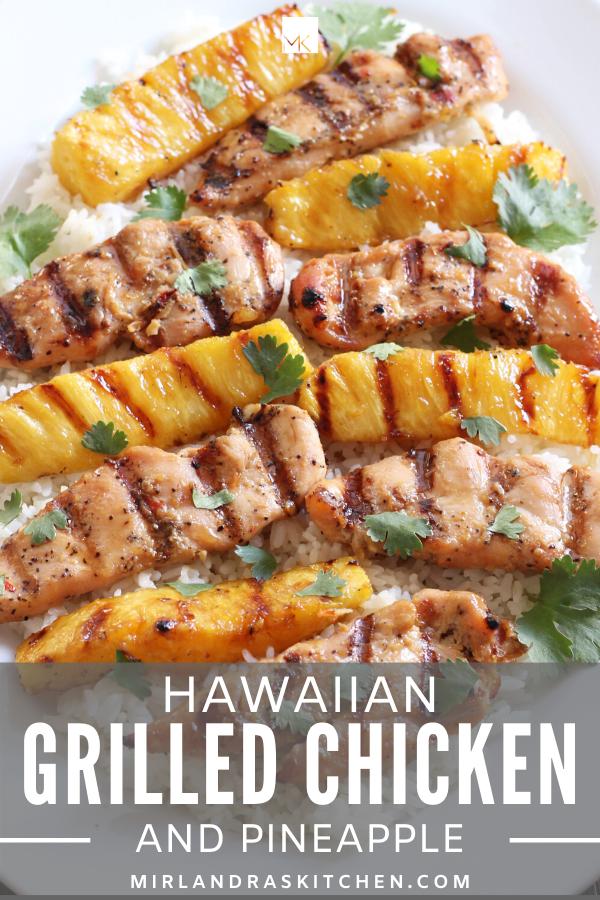 hawaiian grilled chicken promo image