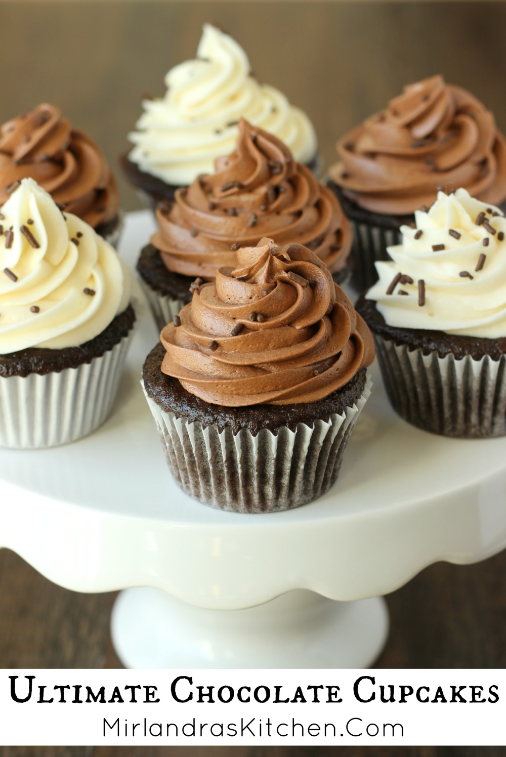 Ultimate Chocolate Cupcakes - Mirlandra's Kitchen