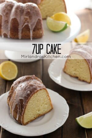 7Up cake is a true Southern classic – sweet, moist and flavorful! Nobody can resist this lovely citrus pound cake with 7Up glaze.