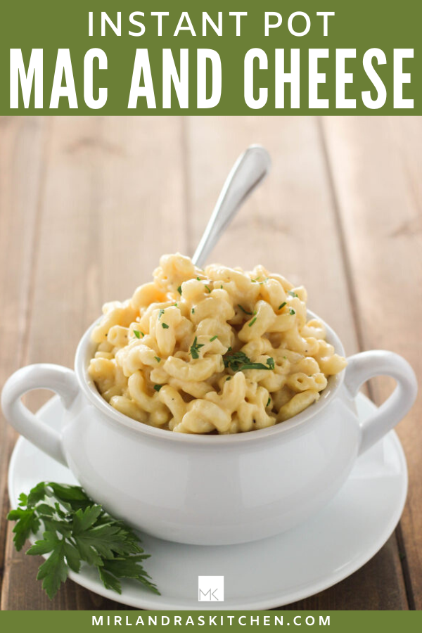instant pot mac and cheese promo image