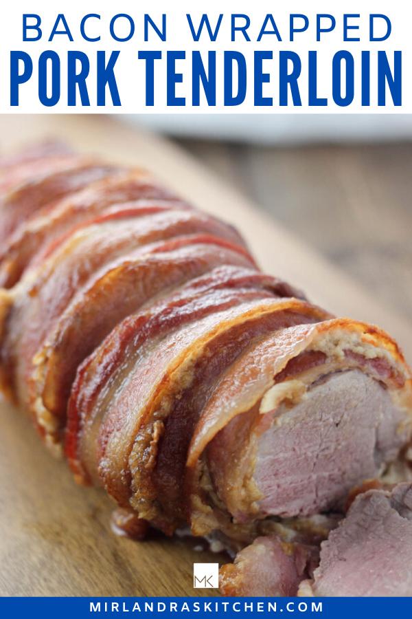 bacon wrapped pork tenderloin promo image