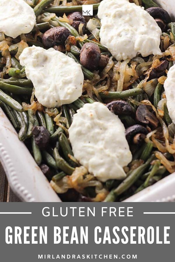 gluten free green bean casserole promo image