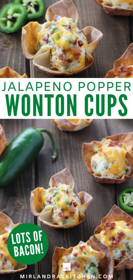 jalapeno popper wonton cups promo image