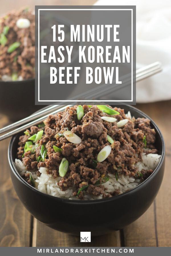 Korean beef bowl promo image