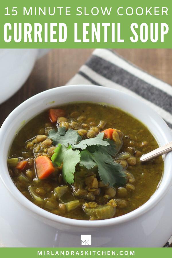 curried lentil soup promo image