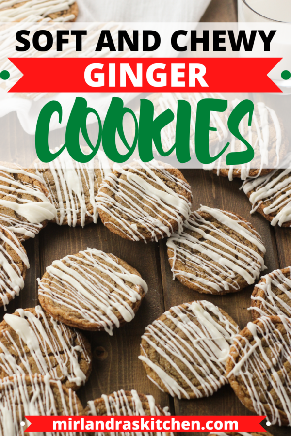 soft ginger cookies promo image