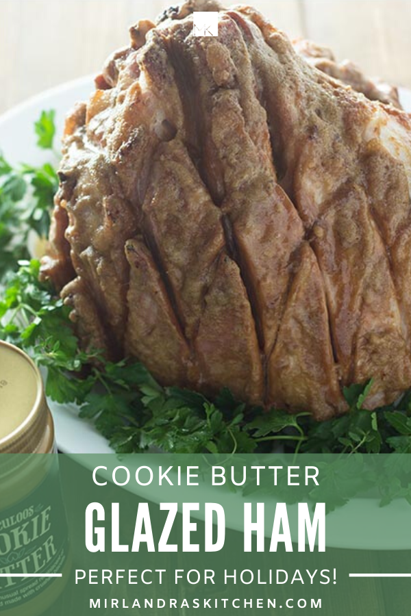 cookie butter glazed ham promo image