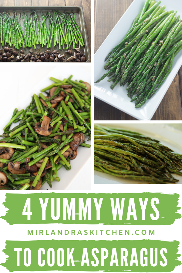 how to cook asparagus four ways promo image