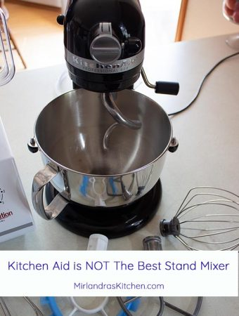 When my grandmother was cooking KitchenAid stand mixers were THE best you could get. That is no longer true. Times have changed and there is a better, more powerful, workhorse stand mixer onthe market!